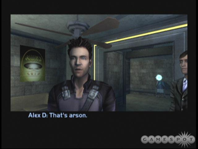 Alex D. (the game's main character) can either be male or female--depending on what you decide--so get used to making the tough calls in Invisible War.