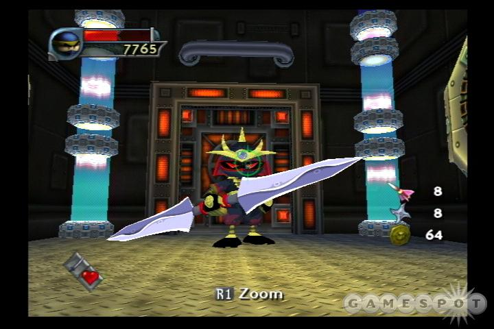 I-Ninja may look like it's for kids, but its challenging gameplay makes it accessible to all.