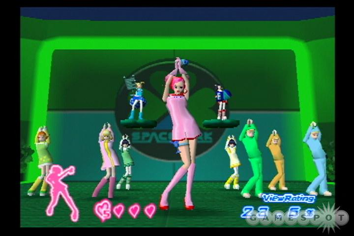 Ulala gets to shake her groove thang one more time in Space Channel 5 Special Edition.