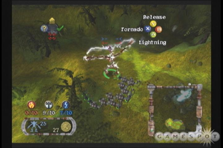 Each of the clans has a combat specialization.