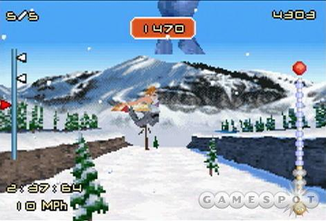 SSX 3 features larger, wider courses when compared to SSX Tricky.