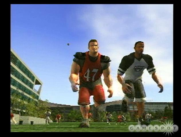 NFL Street is taking a crack at bringing arcade-style gameplay back to the football genre.