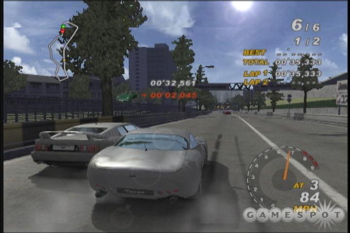 Group S is your basic driving sim. There's nothing flashy here, but it's functional.