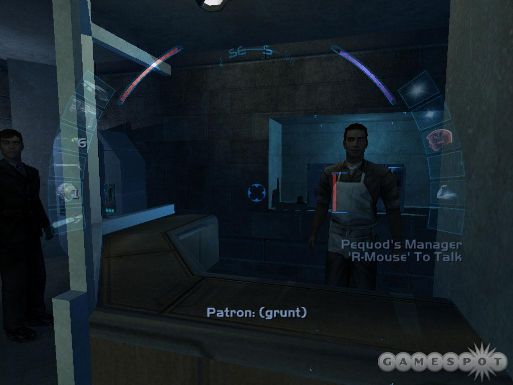Speak with the Pequod's manager--he wants you to destroy the coffee beans of his rival shop, QueeQueg's.