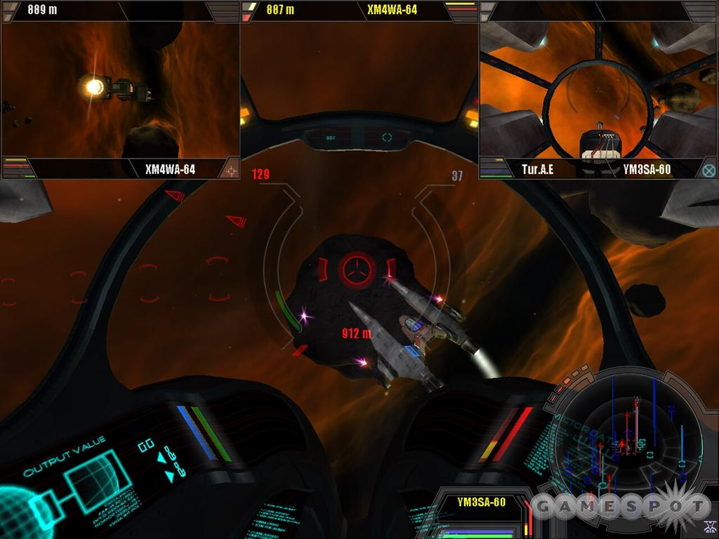 Space looks great in X2, as it's full of colorful nebulae and other interesting scenery.