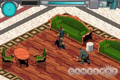 Everything or Nothing is basically an isometric action game, but sneaking up on enemies does factor in as to whether or not you can afford to buy upgrades later on.