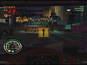 Wrecking into certain objects, such as police cars and bikers, will start up a minigame of sorts.