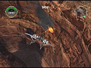 The game is the same sort of mission-based flight simulator that you'd expect from a Wing Commander or Star Wars Rogue Squadron game.