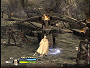 Like The Two Towers before it, The Return of the King is pure action. You'll cut through droves of Sauron's minions in each hectic level.