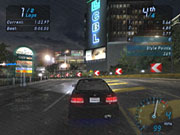 In the world of Need for Speed Underground, the streets are always wet and the cars are always shiny.