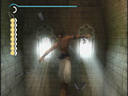 The prince's acrobatic moves make Prince of Persia nearly as enjoyable to watch as it is to play.