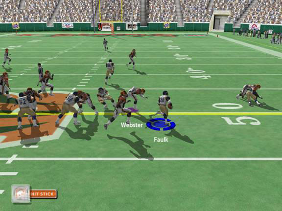 The hit stick is a big... ahem... hit for fans of the defensive side of football.