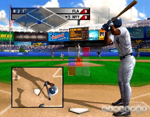 Whiff at a pitch and the game will show it using the new strike cam.