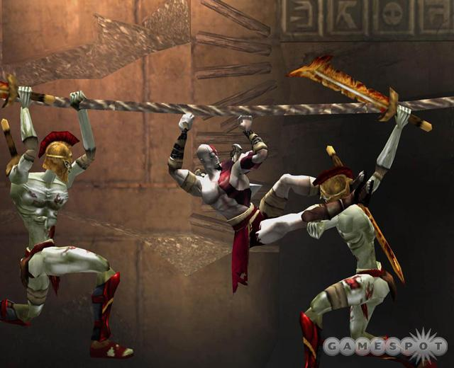 Expect plenty of acrobatic combat in God of War.