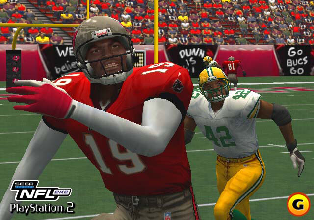 The first shot is fired, as NFL 2K2 breaks away from the Dreamcast and becomes a multiconsole title.