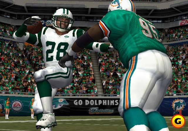 In 2002, both EA and Sega scrambled to get their football games online.