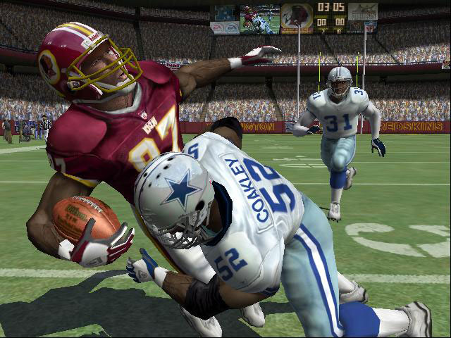 A long year of NFL jabs ended with EA's strong right hook. The behemoth's acquisition of exclusive NFL rights was a painful blow to Sega's football future.