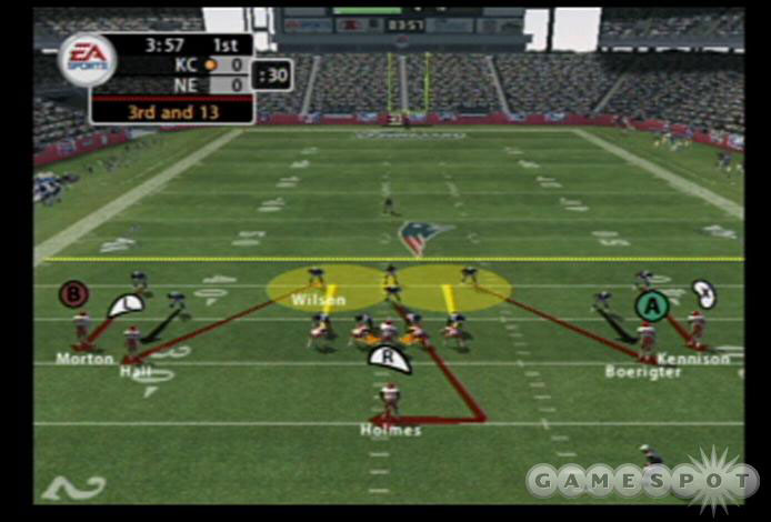Individual defensive assignments are configurable on the fly in this year's Madden.