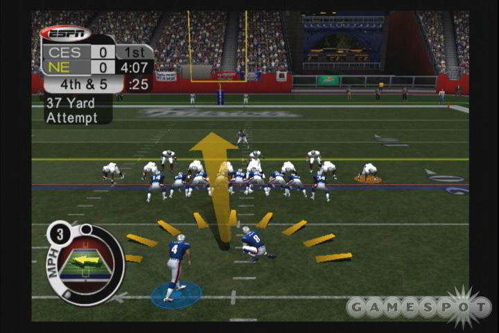 The drifting arrow in ESPN's kicking game hasn't changed.