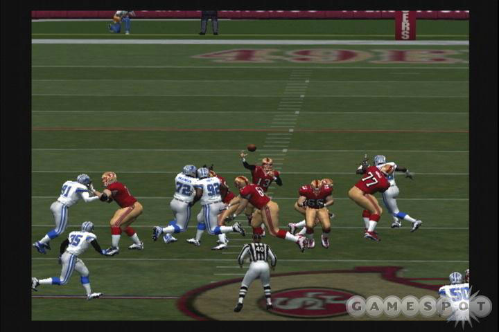 ESPN NFL offers interesting camera angles on replays, giving it an even more TV-like look and feel.