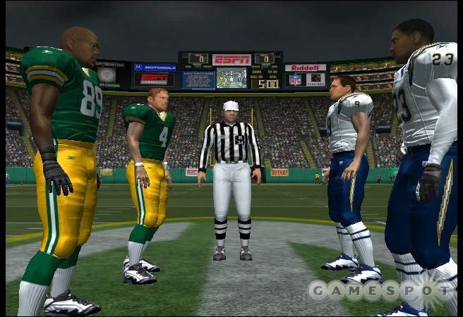 ESPN NFL is easily the better looking football game this year.