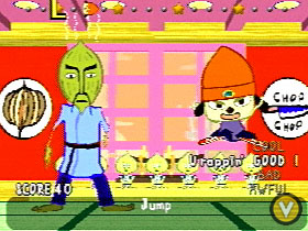 You, Parappa. You're the one who started all of this nonsense to begin with.