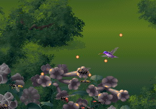 Yes, a hummingbird shooter. It's also one of the good 32X games, both in graphics and gameplay.