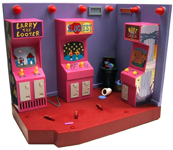 No Bonestorm in this Simpsons toy, but plenty of other quality games.