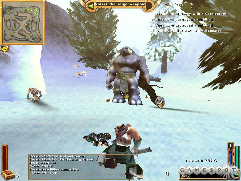 Humans battle beasts in this unique, online multiplayer game.