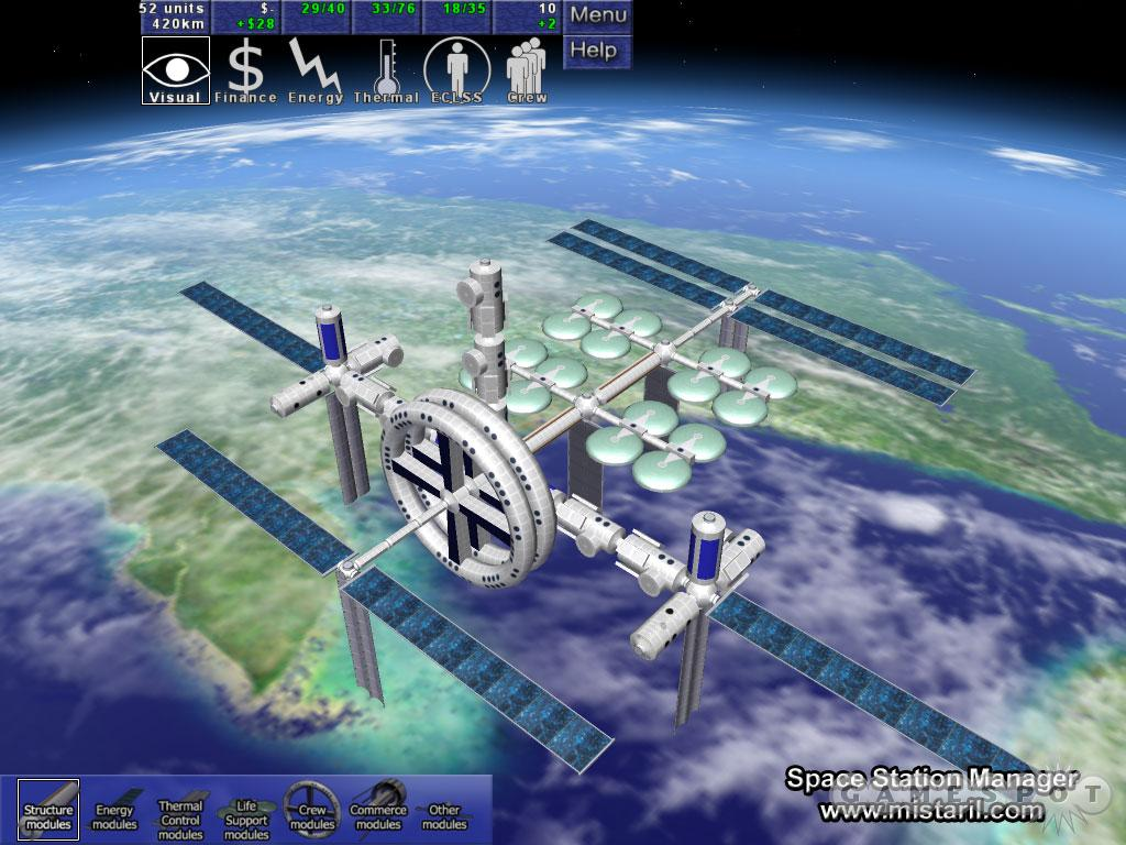 Build your station up from nothing into a huge orbital installation in Mistaril's Space Station Manager.