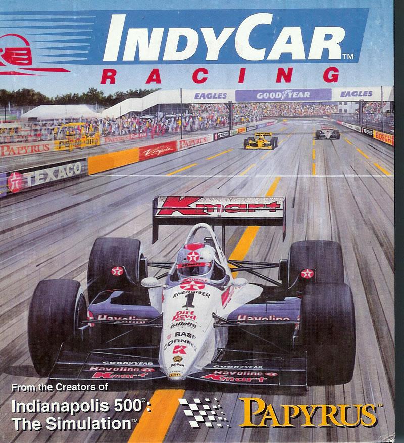 IndyCar box art