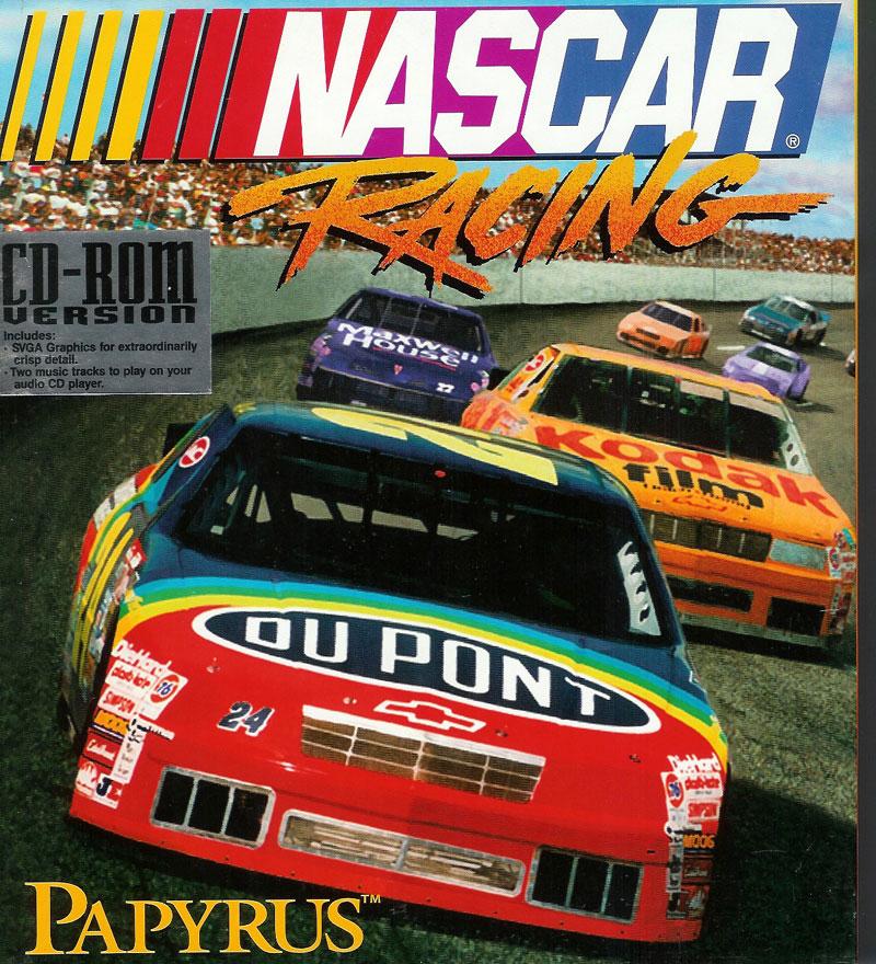 The original NASCAR Racing box