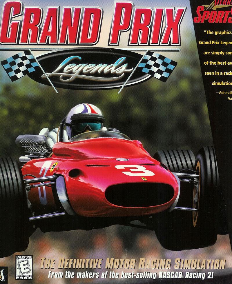Grand Prix Legends box art