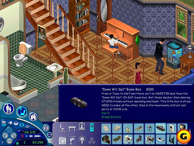 The Sims--a game or not a game?