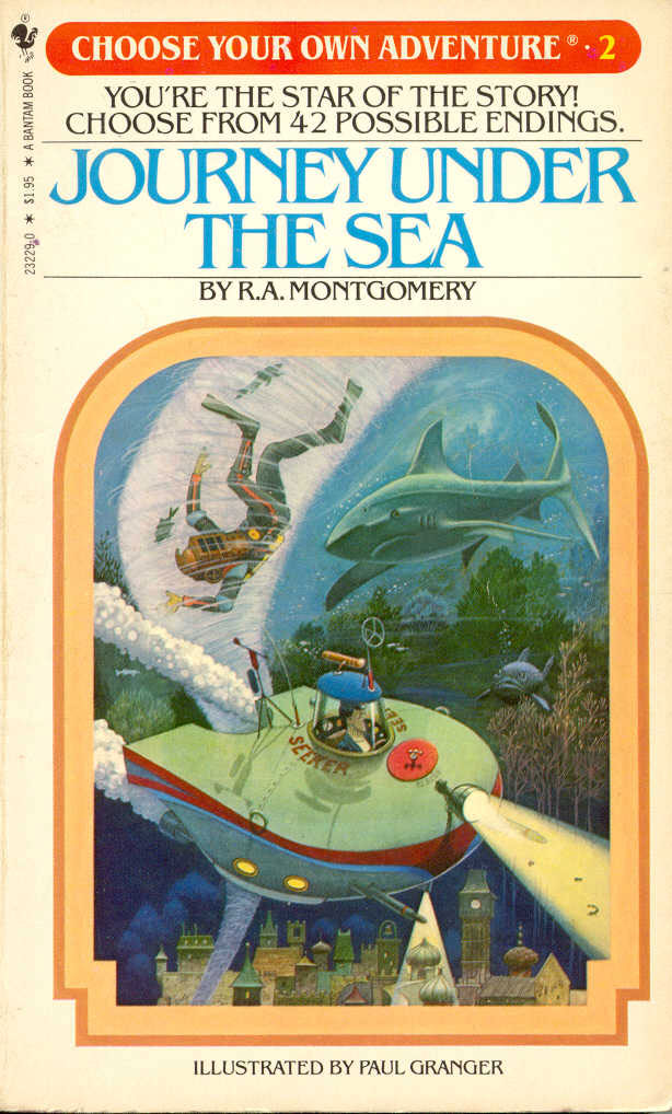 R.A. Montgomery's Journey Under the Sea Choose Your Own Adventure.