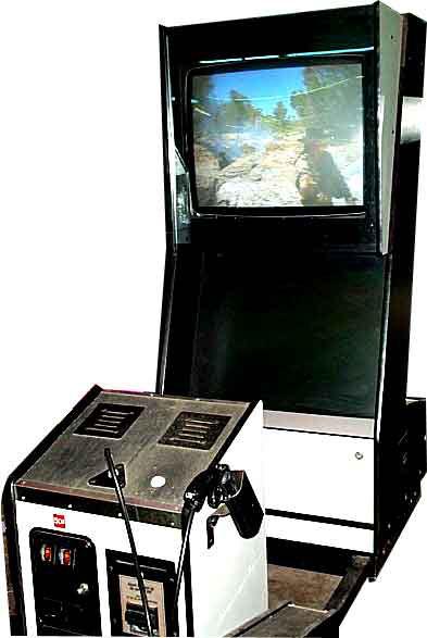 A Mad Dog McCree machine.