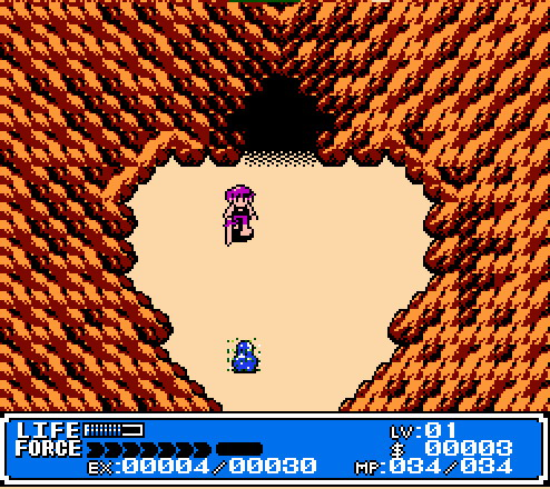 Crystalis for the NES captivated players who were looking for something a bit more mature than Nintendo's Legend of Zelda.