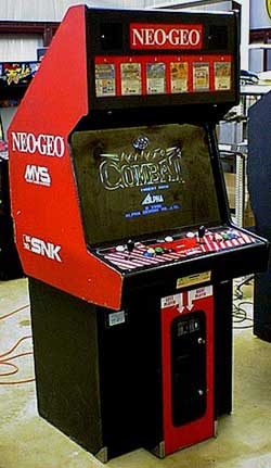 SNK introduced the MVS into arcades in 1989.