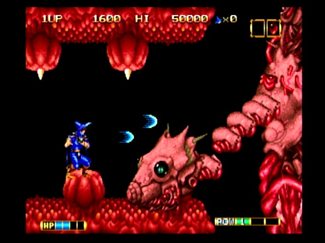 Magician Lord was one of the first games for the NeoGeo.