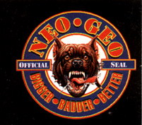 In the US, the pit bull was the NeoGeo seal of quality.