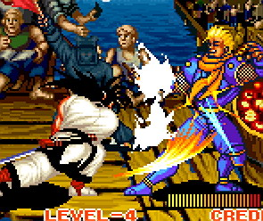 SNK of America didn't realize the US version of Samurai Shodown was censored until it was too late to do anything about it.