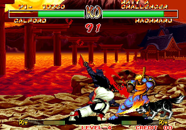 Samurai Shodown II is the Game Lord's favorite NeoGeo game.