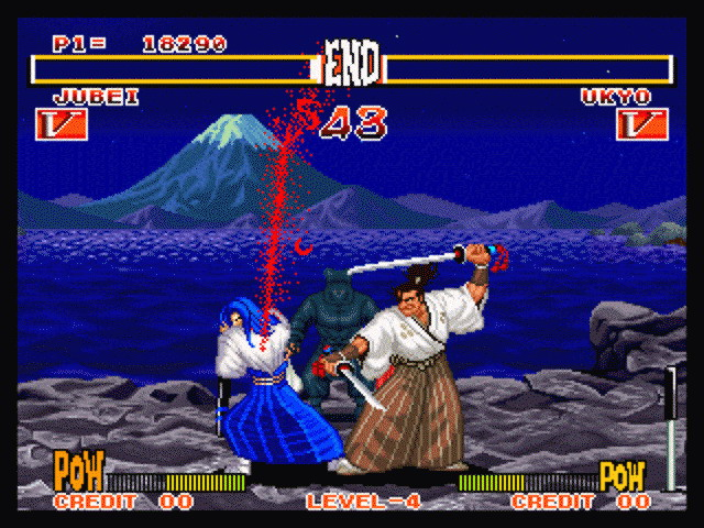 Samurai Shodown is a weapons-based fighting game set in Japan during the 1780s.