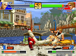 King of Fighters '98 is generally considered the best of the KOF games.