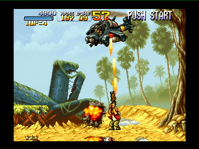 Jackpot. Metal Slug came out in 1996 and proved to be a hit with fans.