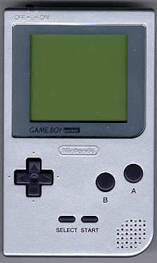 In 1998, this was the handheld market: Nintendo's monochrome Game Boy Pocket.