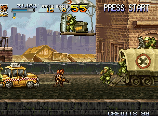 After SNK closed, Mega Enterprise went on to develop and publish Metal Slug 4, which is regarded as the weakest entry in the series.