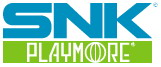 The new SNK Playmore logo.
