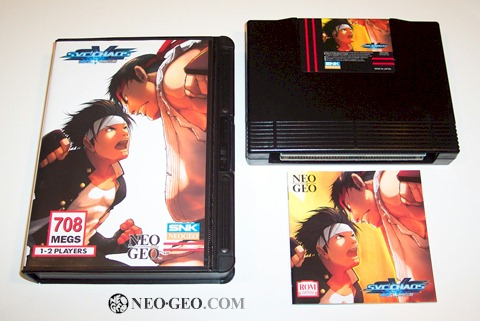 Fans are ecstatic now that they're able to buy the NeoGeo home console version of SVC Chaos in North America.