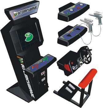 Atomiswave is Sammy's modular arcade hardware.